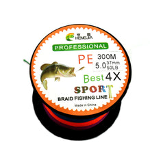 300M Braided Fishing Line Multiple Colors HENGJIA