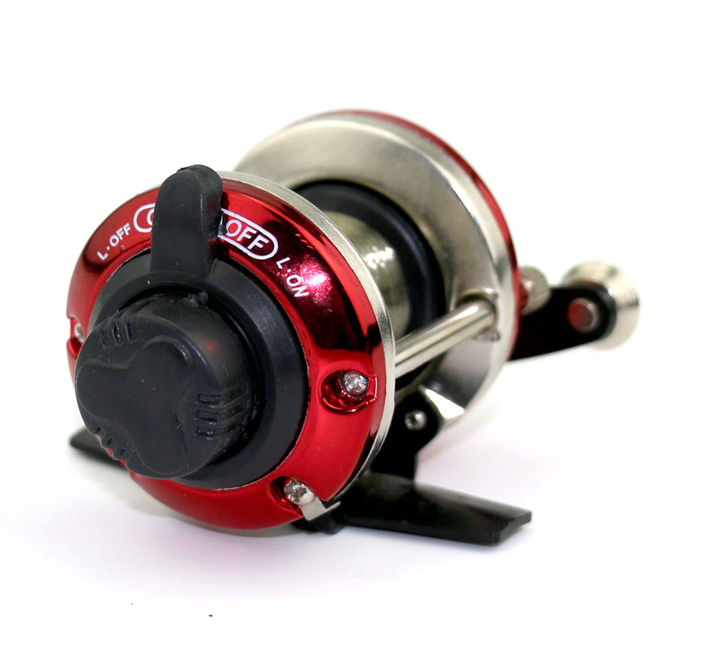 Right Sea Trolling Fishing Reels Baitcasting Wheel with Line HENGJIA