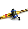 Image of Right-Sea-Trolling-Fishing-Reels-Baitcasting-Wheel-with-Line-HENGJIA