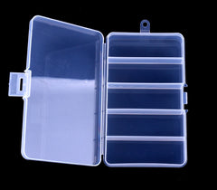 5 Compartments Tackle Box Case HENGJIA