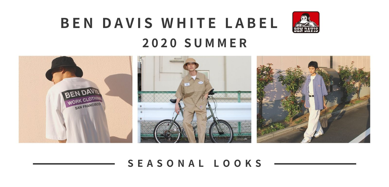 BEN DAVIS WHITE LABEL _ 2020 SUMMER LOOKBOOK