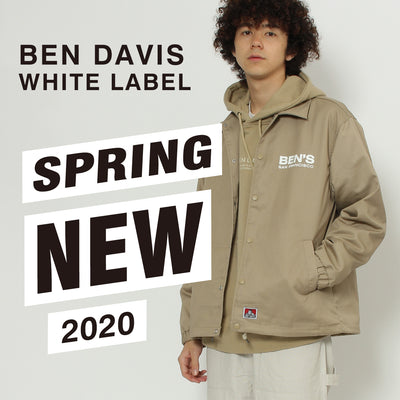 BEN DAVIS WHITE LABEL春の新作紹介