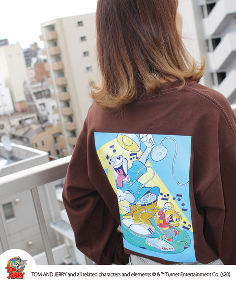 Sequence / TOM and JERRY VINTAGE ART L/S TEE / トムとジェリー ビンテージ アート ロンT / 長袖 バックプリント Tシャツ / B-ONE-SOUL