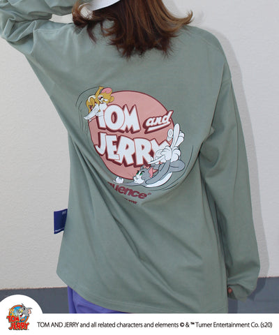 Sequence / TOM and JERRY CIRCLE LOGO L/S TEE / トムとジェリー サークル ロゴ スケボー プリント ロンT 2021 / 長袖 Tシャツ / B-ONE-SOUL