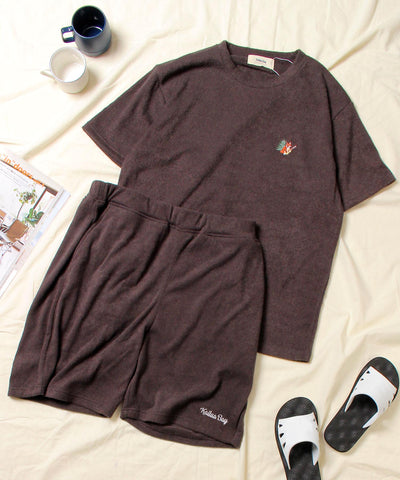 Kailua Bay / FOX EMB PILE TEE + SHORTS SET (NanoTec) 《WEB限定》