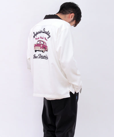 【 BEN DAVIS ( ベンデイビス )】DRIVING LONG SLEEVE SHIRTS