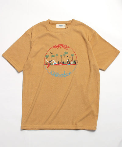 Kailua Bay / HOLIDAY SURFING PILE TEE (NanoTec)