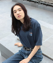 【 BEN DAVIS ( ベンデイビス )】MINI GORI EMBROIDERY TEE