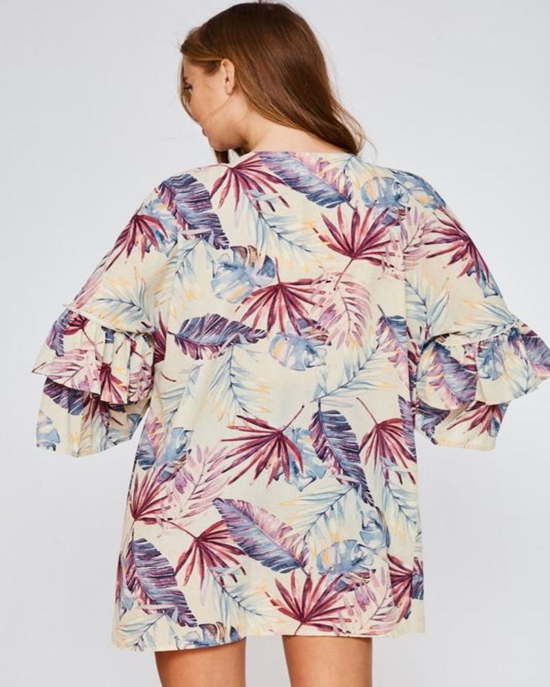 Tropical Kimono-Cardigans-Inspired Wings Fashion-Small-Inspired Wings Fashion