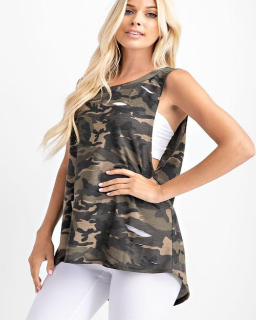 Easy Livin' Camo Top-Tops-Rae Mode-Small-Inspired Wings Fashion