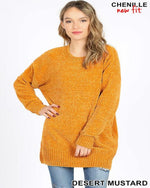 Chenille Sweater-Sweaters-Inspired Wings Fashion-Small-Inspired Wings Fashion