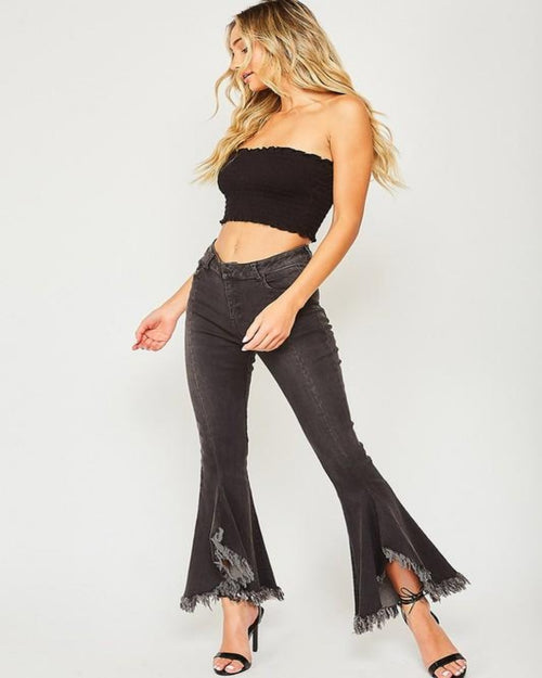Ultra Flare Pants-bottoms-Inspired Wings Fashion-Small (1/3)-Inspired Wings Fashion