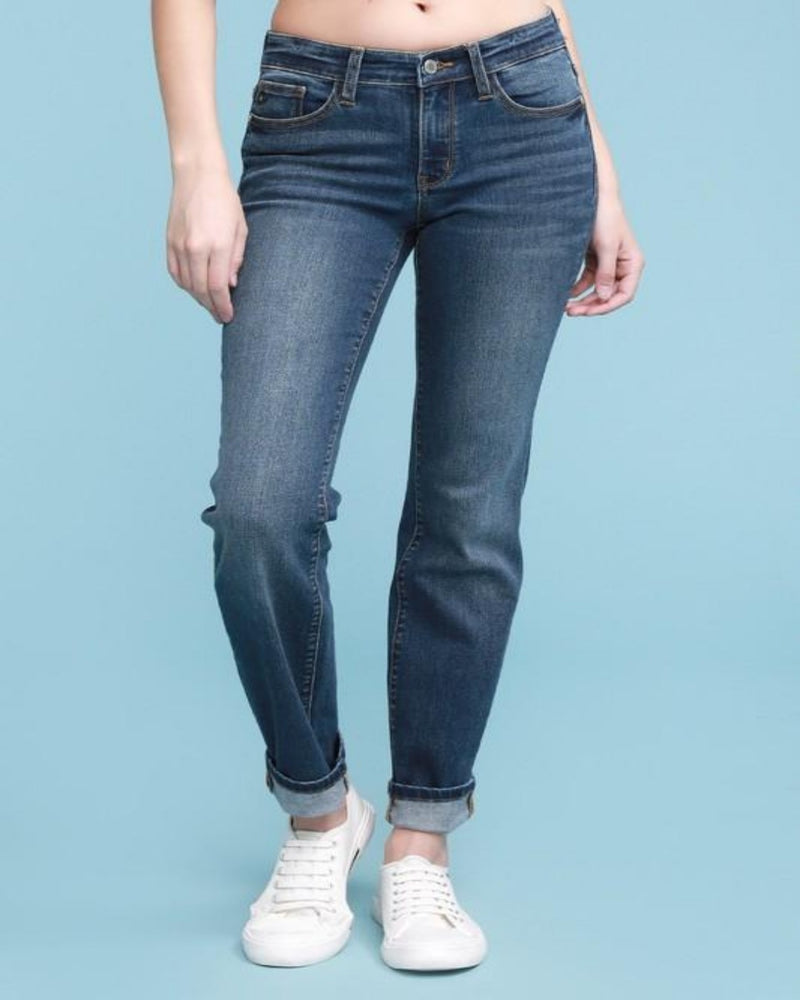 No Distress Straight Jeans-bottoms-Inspired Wings Fashion-0/24-Inspired Wings Fashion