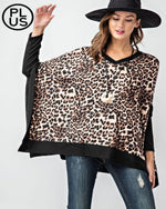 Best Of Everything Poncho-Plus Size-Rae Mode-1XL-Inspired Wings Fashion