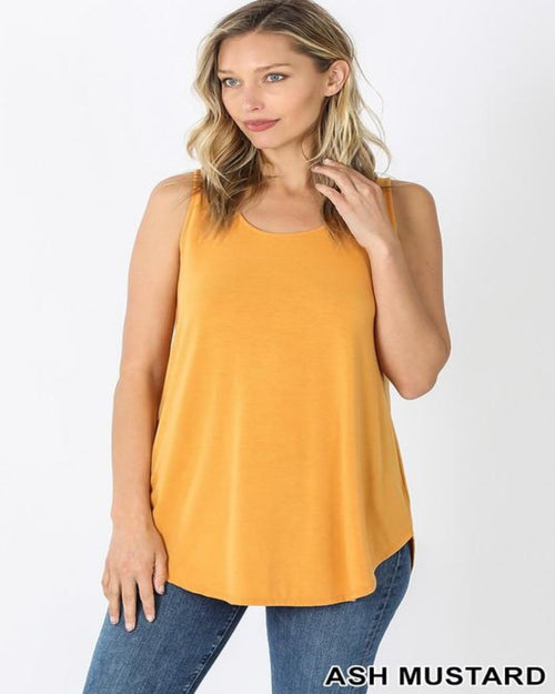 Back To You Top-Tops-Zenana-Small-Mustard-Inspired Wings Fashion