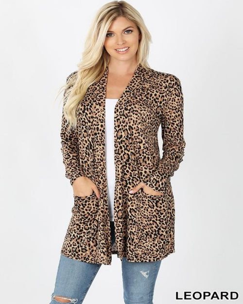 This Leopard In Cardigan-Cardigans-Zenana-Small-Inspired Wings Fashion