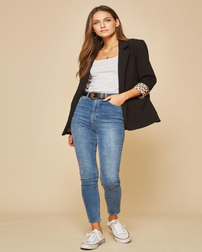 Chic N' Style Blazer-Sweaters-Andree by Unit-Small-Black-Inspired Wings Fashion