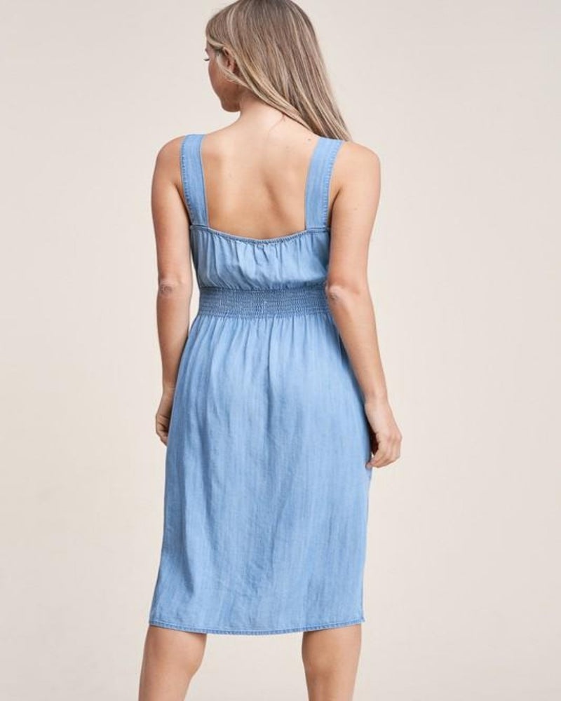 Denim Your Style Dress-Dresses-Staccato-Small-Inspired Wings Fashion