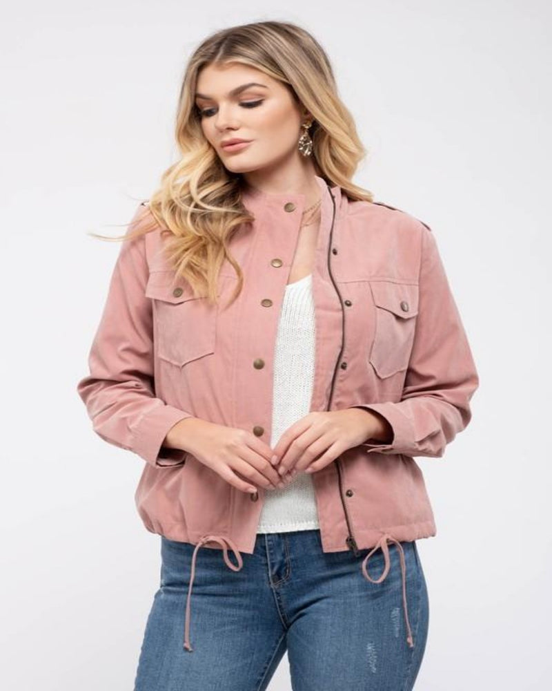 Let's Chill Utility Jacket-Cardigans-Blu Pepper-Small-Mauve-Inspired Wings Fashion