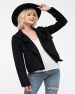 Chic Suede Moto Jacket-Cardigans-Blu Pepper-Small-Black-Inspired Wings Fashion