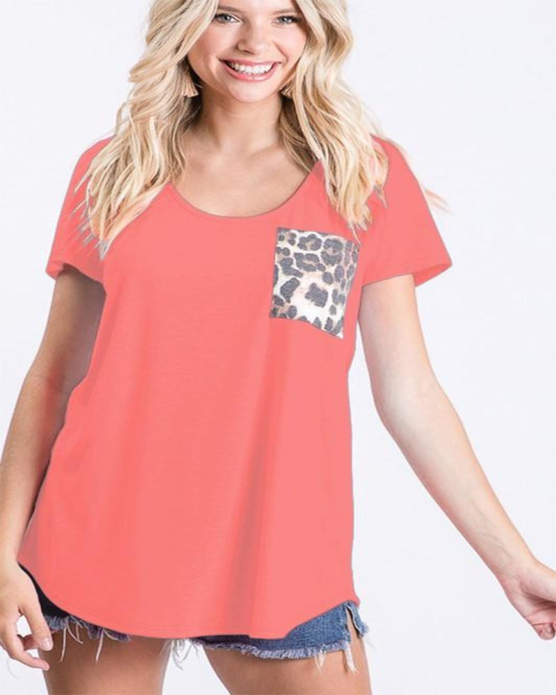 Cozy It Leopard Tops-Tops-Heimish-Small-Coral-Inspired Wings Fashion
