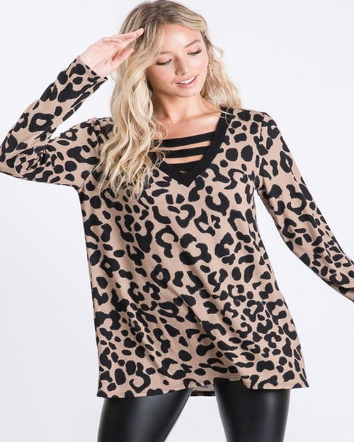 Wildin' Leopard Top-Tops-Heimish-1X-Inspired Wings Fashion