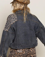Off Duty Leopard Jacket-Jacket-Pol Clothing-Small-Denim-Inspired Wings Fashion