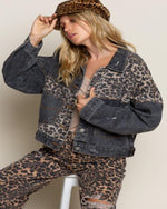Off Duty Leopard Jacket-Jacket-Pol Clothing-XL-Vintage-Inspired Wings Fashion