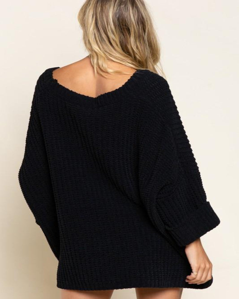JST347-Sweaters-Pol Clothing-Small-Black-Inspired Wings Fashion