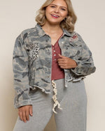 Most Loved Camo Jacket-Jacket-Pol Clothing-XL-Inspired Wings Fashion