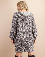 Leopard Hoodie Dress-Dresses-143 Story-Small-Inspired Wings Fashion