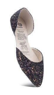 Glitz & Glam Flats-Shoes-Rollasole-Small-Inspired Wings Fashion