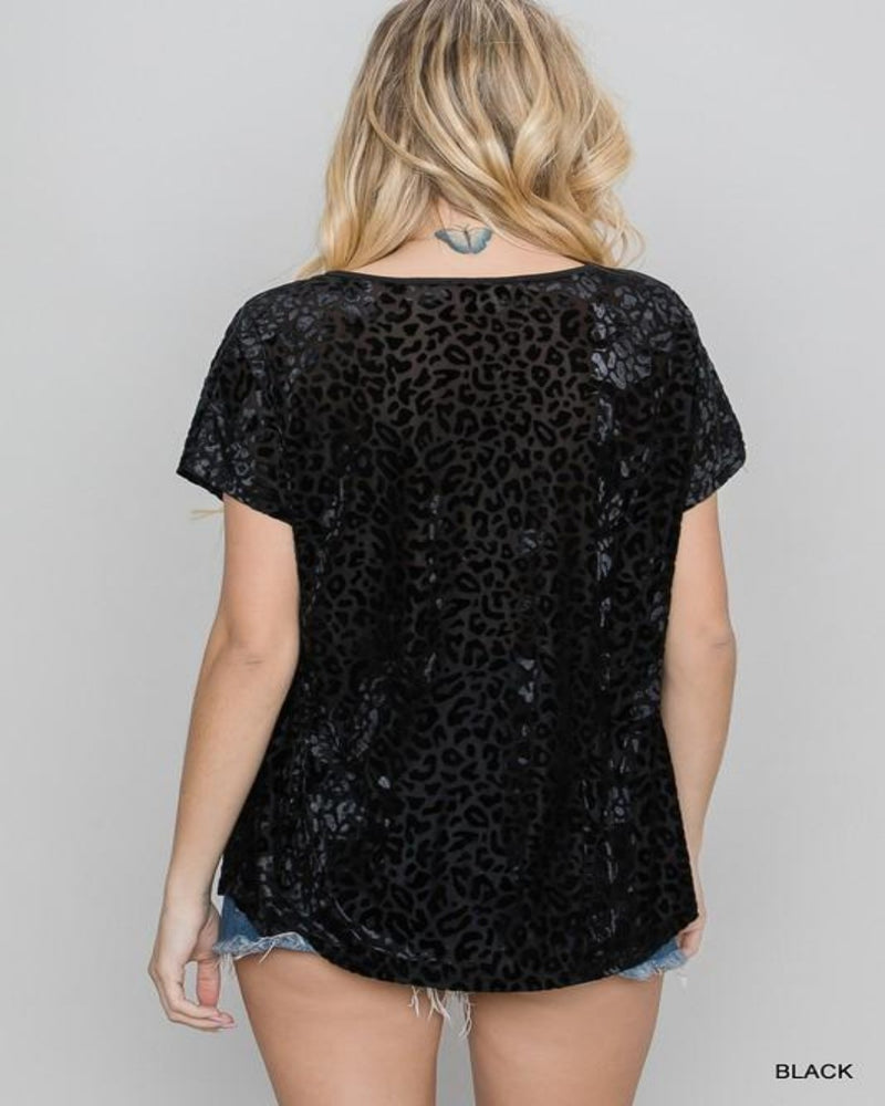 Burn Out Leopard Top-Tops-Jodifl-Small-Black-Inspired Wings Fashion