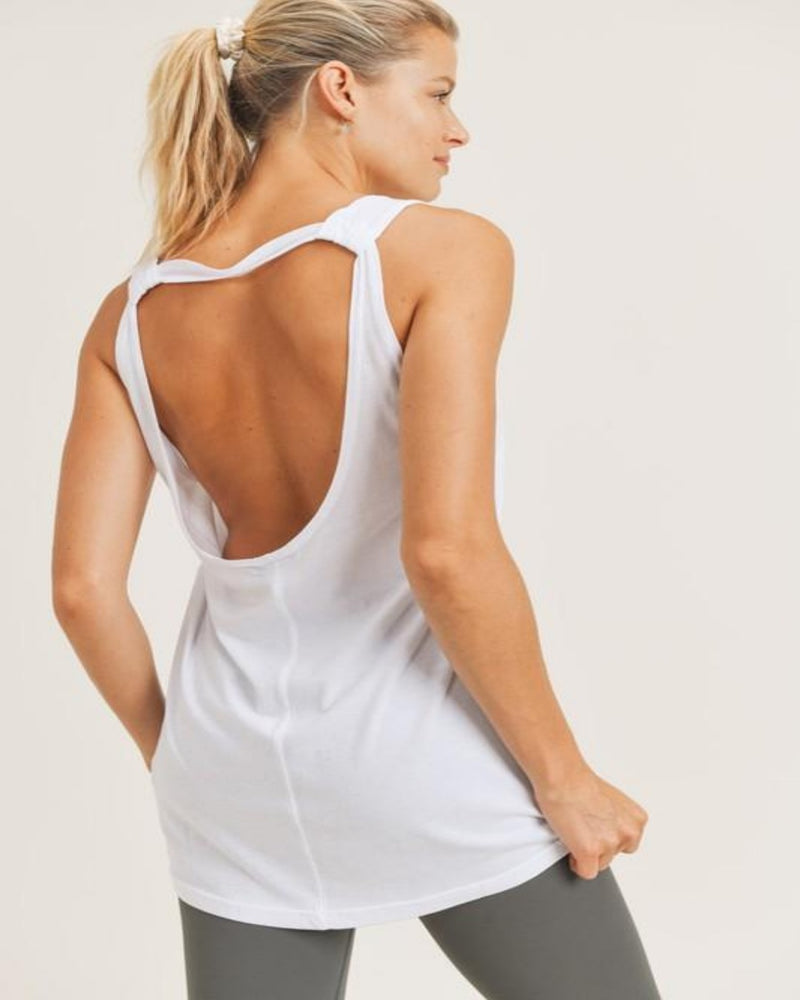 Longline Strap-Back Top-Tops-Mono B-White-Small-Inspired Wings Fashion