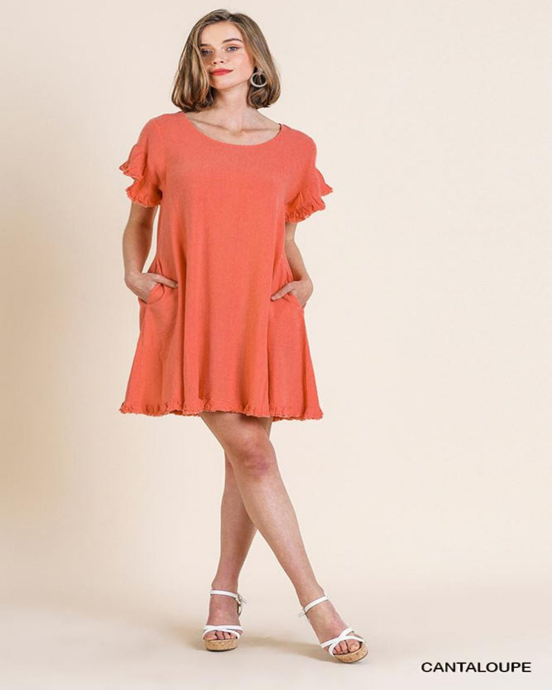 C1963-Dresses-Umgee-Small-Cantaloupe-Inspired Wings Fashion