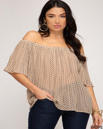 Love Off Shoulder Tops-Tops-She+Sky-Small-Inspired Wings Fashion