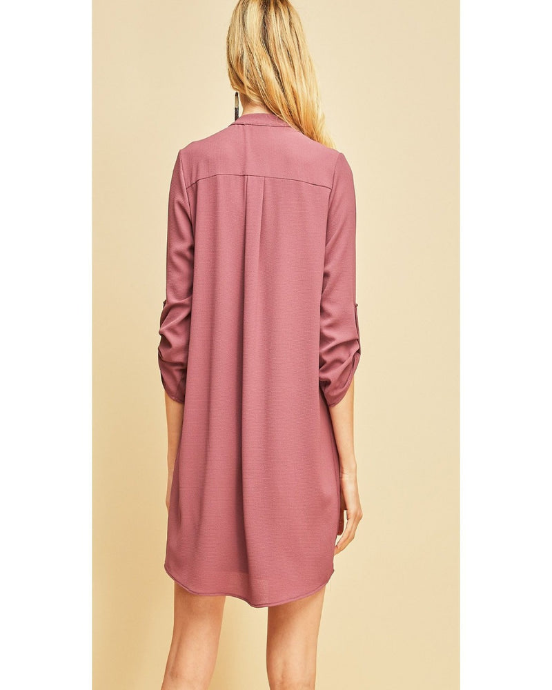 Life Is Beautiful Dress- Mauve
