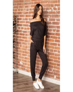 Summer Vacay Black Jumpsuit-Jumpsuit-Mixbe Inc.-Small-Inspired Wings Fashion
