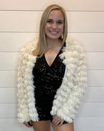 More Glam Fluffy Cardigan-Cardigans-Main Strip-Small-Black-Inspired Wings Fashion