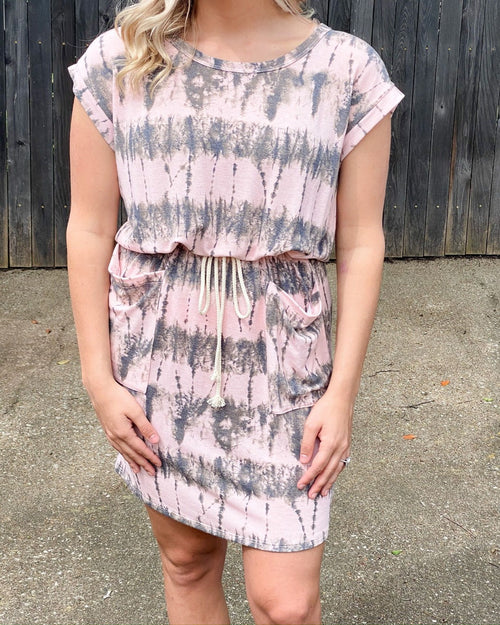 Tie-Dye Chic Dress-Dresses-Rae Mode-Small-Inspired Wings Fashion