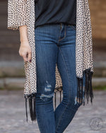 Into Wild Leopard Cardigans-Cardigans-Southern Grace Wholesale-Inspired Wings Fashion