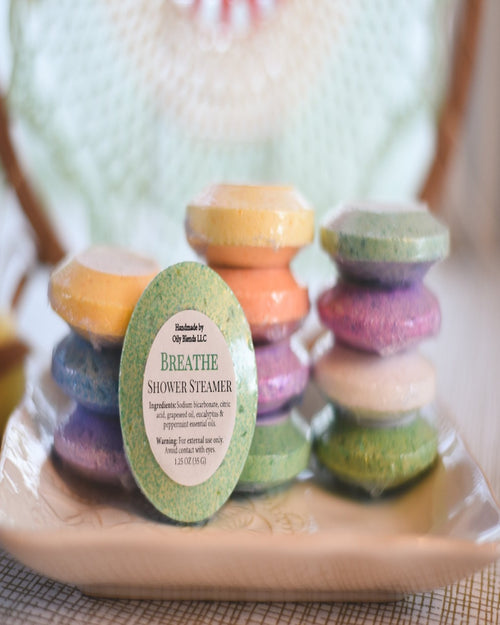 Shower Steamers-Steamers-Oily Blends LLC-Relax-Inspired Wings Fashion