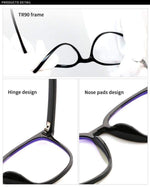 Blue Light Glasses-Accessories-Julia Rose Wholesale-Black-Inspired Wings Fashion