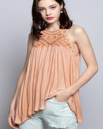 Forever Hopeful Knit Top-Tops-Pol Clothing-Small-Cantaloupe-Inspired Wings Fashion