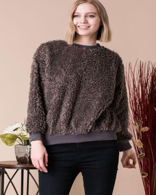 Teddy Sweater-Sweaters-Inspired Wings Fashion-Small-Inspired Wings Fashion