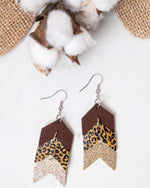 Go Your Own Way Earrings-Southern Grace Wholesale-Brown-Inspired Wings Fashion