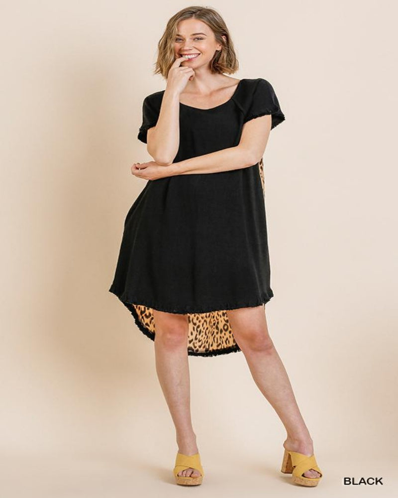 Leopard Dress-Dresses-Inspired Wings Fashion-Small-Black-Inspired Wings Fashion