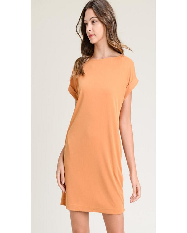 Back to Better Days Dress Mustard