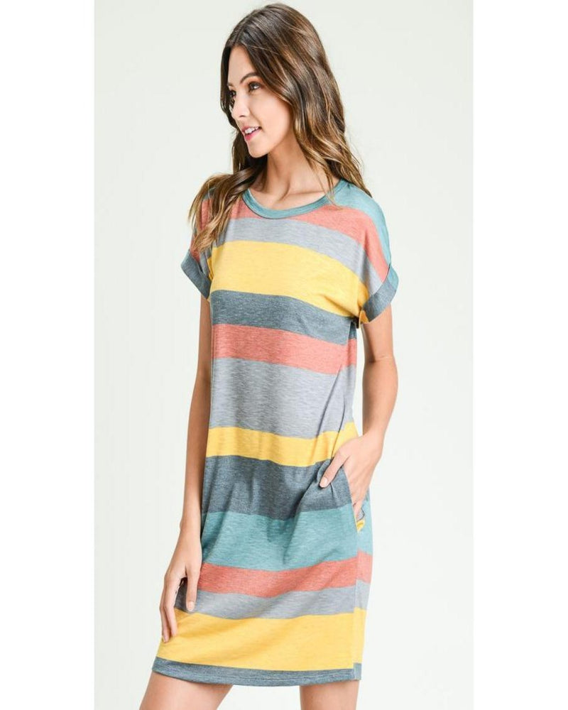 Lets Just Relax T Shirt Dress