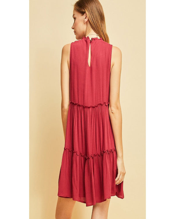Talk of the Town Ruffle Dress